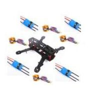 Carbon Fiber Mini 250 FPV Quadcopter Frame kit+Motor+ESC+Props