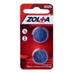 ZOLTA Lithium CR2025 3V (2 Per Pack)