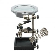 Soldering Clamp with Magnifier/Light