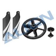 Heli Part, Trex450 104T:28T Autorotation Tail Drive Upgrade Set