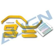 Heli Part, Trex500 Upgrade Parts Yellow