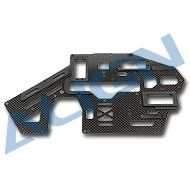 Heli Part, Trex500 Pro Carbon Main Frame (L) 1.6mm