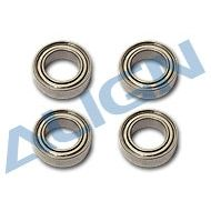 Bearing, d6xD10x3mm (MR106ZZ) x4