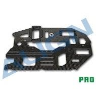Heli Part, Trex600 Pro Carbon Main Frame (L) 2mm