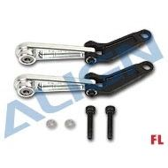 Heli Part, 700FL Control Arm Set Silver
