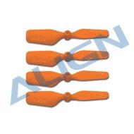 Tail Blade, Trex150 23mm Orange x4