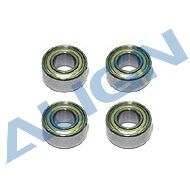 Bearings, d3xD8x3mm (MR83ZZ) x4