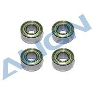 Bearings, d4xD8x3mm (MR84ZZ) x4