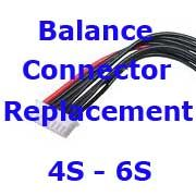 Battery Balance Connector Replacement 4S-6S