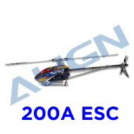 Heli, TREX 700X Dominator TOP Combo (200A)