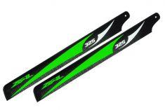 Main Blade, Zeal 325mm Green