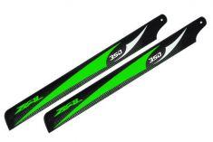 Main Blade, Zeal 350mm Green