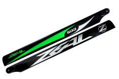 Main Blade, Zeal 500mm Green