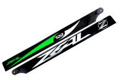 Main Blade, Zeal 700mm Green