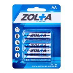 ZOLTA Alkaline AA 1.5V (4 Per Pack)