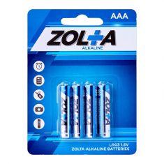 ZOLTA Alkaline AAA 1.5V (4 Per Pack)