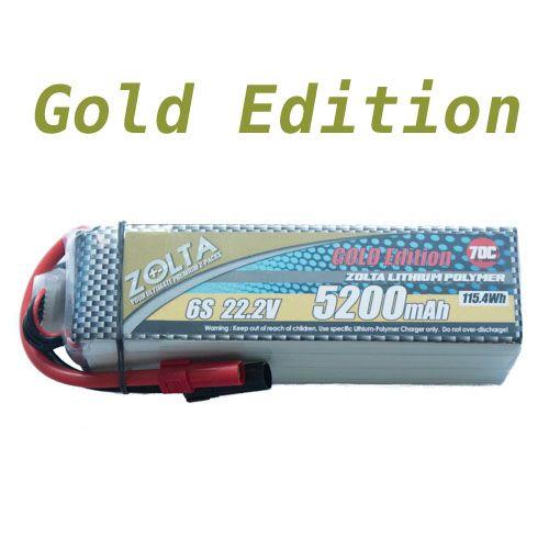 Lipo, Zolta 70C 6S1P 5200mAh Gold Edition