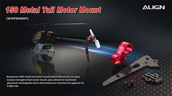 Heli Part, Trex150 Metal Tail Motor Mount