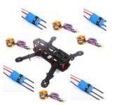 Carbon Fiber Mini 250 FPV Quadcopter Frame kit+Motor+ESC+Props