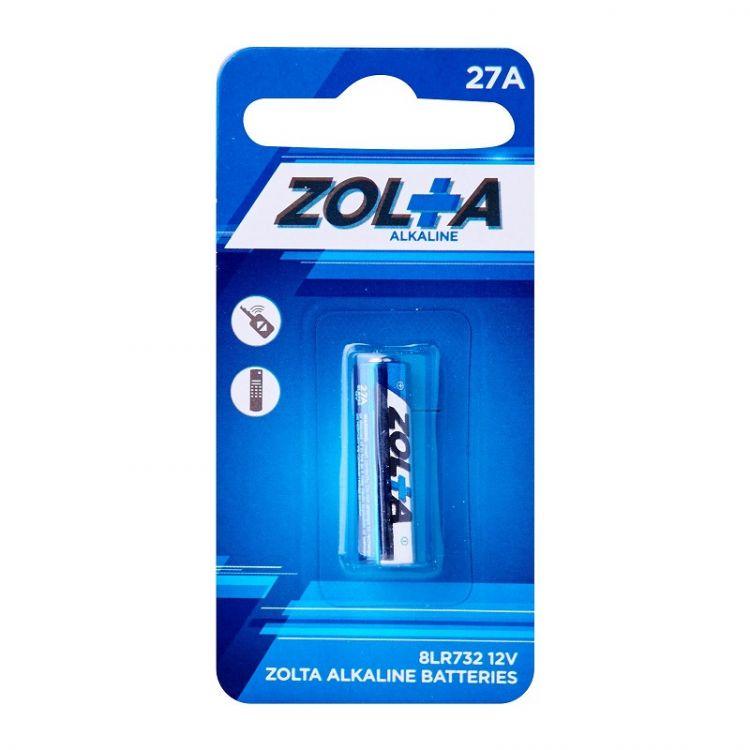ZOLTA Alkaline 27A 12V (1 Per Pack)