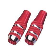 JR Gimbal Stick Ends, 24mm (Med) Red