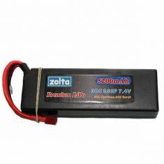 Lipo, Zolta 30C 2S 5200mAh Hard Case (Wire Case)