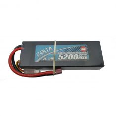 Lipo, Zolta 35C 2S 5200mAh Hard Case (Wire Case)
