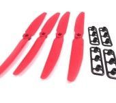 Gemfan Red 5X3 5030 CW Quadcopter Props