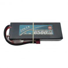 Lipo, Zolta 75C 2S 6500mAh Hard Case (Wire Case)