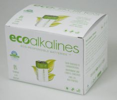 ecoalkalines 9V - Value Box (10 x 1 per pack)