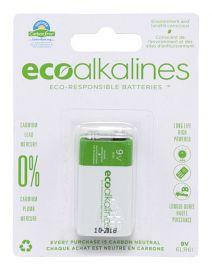ecoalkalines 9V (1 per pack)