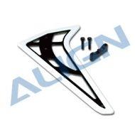 Heli Part, Trex450L Vertical Stabilizer White