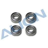 Bearing, d6xD12x4mm (MR126ZZ) x4