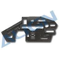Heli Part, Trex500 Pro Carbon Main Frame (L) 1.6mm
