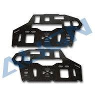 Heli Part, Trex 550E PRO Carbon Fiber Main Frame-2.0mm