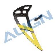 Heli Part, Trex550L CF Vertical Stabilizer Yellow