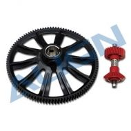 Heli Part, Trex700/800 M1 105T CW Autorotation Gear with CCW 20T Tail Drive Gear