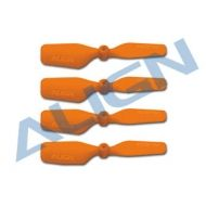 Tail Blade, Trex150 20mm Orange x4
