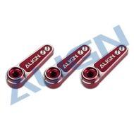 Servo Arm, Align D6FF Metal Servo Horn (M2.5) Red