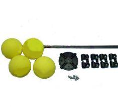 Heli Training Kit, D40mm L330mm Yellow