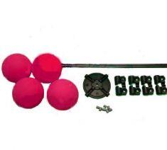Heli Training Kit, D40mm L330mm Red