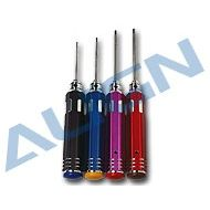 Tool, Hex Screw Driver Set 1.5mm 2mm 2.5mm 3mm
