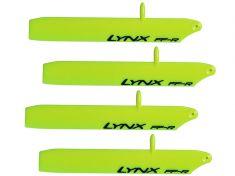 Main Blade, Lynx 125mm Trex150 Bullet Yellow x2