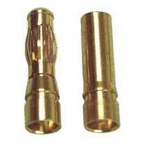 Bullet Connector, 3.5mm Male/Female 10-Pairs