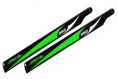 Main Blade, Zeal 250mm Green