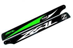 Main Blade, Zeal 430mm Green