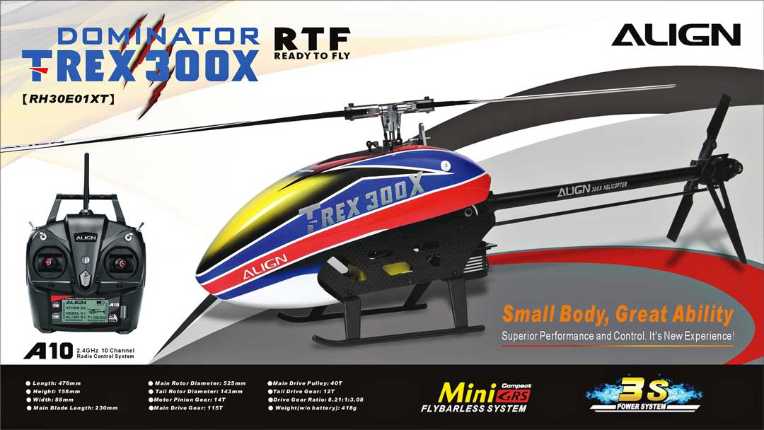 Trex 300X