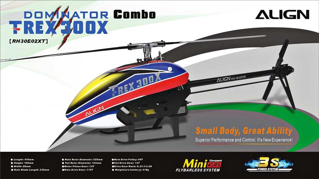 Trex 300X Combo